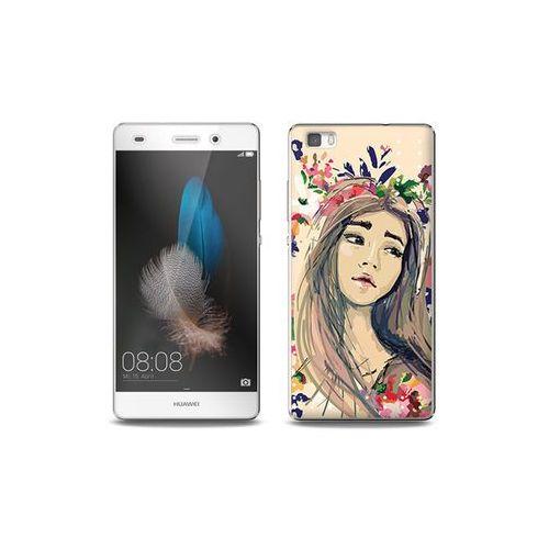 Huawei P8 Lite - etui na telefon Full Body Slim Fantastic - kolorowy wianek, ETHW190FBSFFC118000