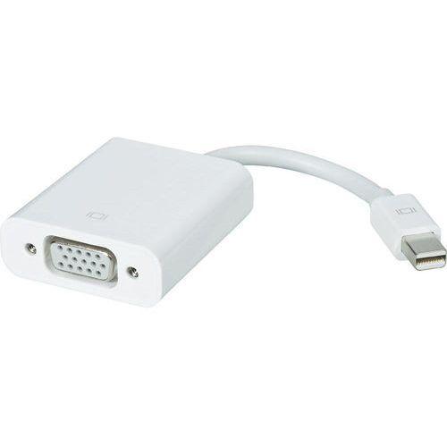 OKAZJA - Przejściówka, adapter mini displayport, vga mb572z/b mini displayport-till-vga-adapter, [1x złącze męskie mini-displayport - 1x złącze żeńskie vga] marki Apple