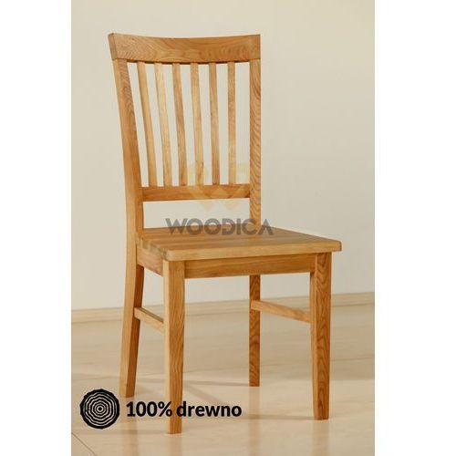 Krzesło dębowe 02d marki Woodica