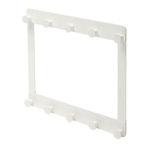 Wieszak łazienkowy 2-poziomowy Koros biały, ITI_BR028