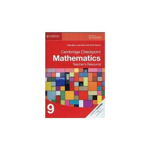 OKAZJA - Cambridge Checkpoint Mathematics 9 Teacher's Resource