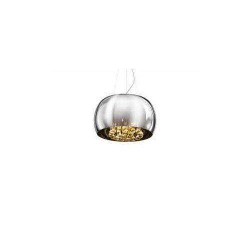 Azzardo burn az0699 lp/lc 5204-s lampa wisząca zwis 5x40w g9 chrom - negocjuj cenę