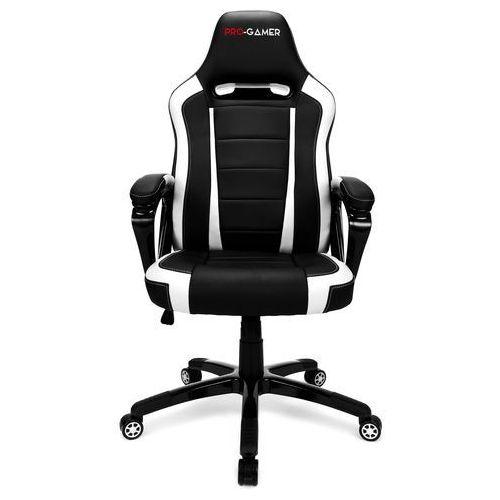 OKAZJA - Fotel gamingowy atilla biały dla graczy marki Pro-gamer