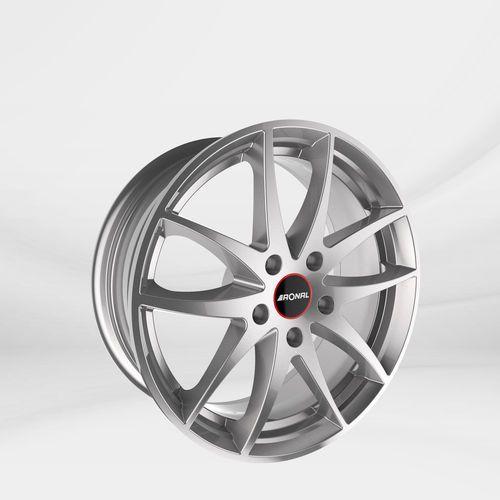 """Felgi Aluminiowe 17"""" RONAL 5X114.3 R46 - SREBRNY (4053881103571)"""