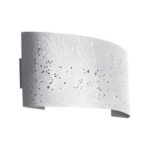 Ideus Kinkiet lampa ścienna migo 03285 metalowa oprawa ażurowa led 5w minimalistyczna biała
