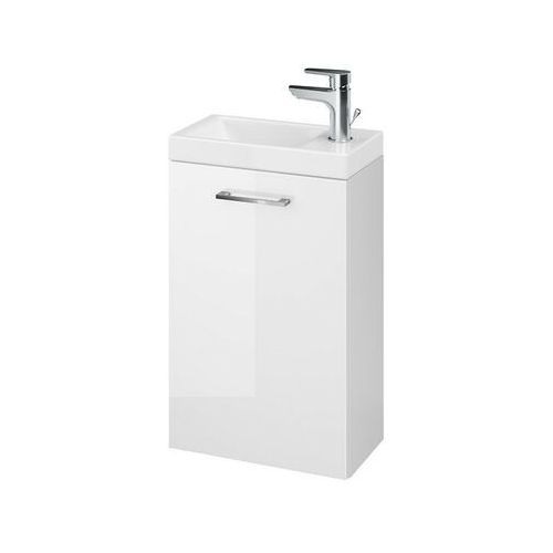 CERSANIT szafka Lara biała + umywalka Como 40 S801-187, kolor biały