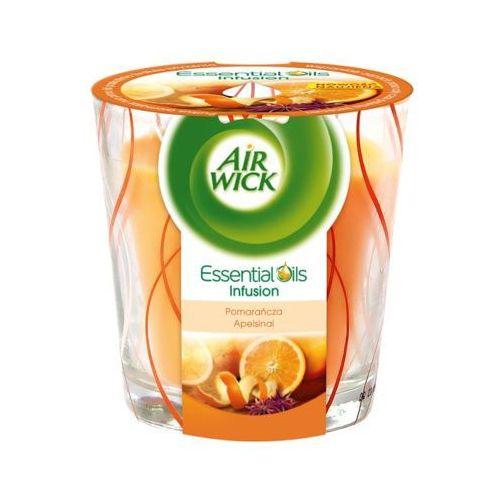 AIR WICK 105g Pomarańcza Essential Oils Infusion Świeczka