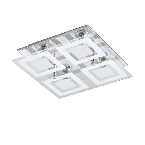Plafon Eglo Almana 94226 lampa sufitowa ścienna 4x3W GU10-LED chrom/biały, 94226