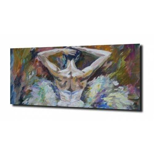 Obraz na szkle, panel szklany baletnica 100x80 marki Zahartowani.pl