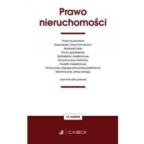 Prawo nieruchomości oraz ustawy towarzyszące - Aneta Flisek (2017)