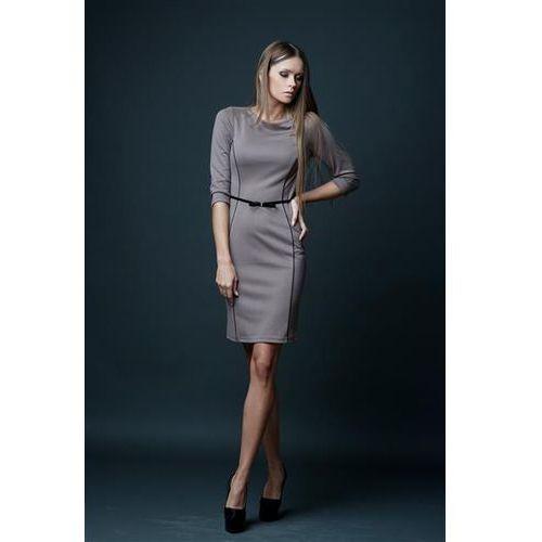 Sukienka Model Pola Beige
