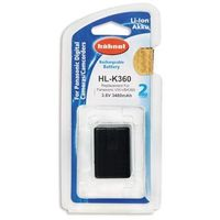 hl-k360 (odpowiednik panasonic vw-vbk360) marki Hahnel