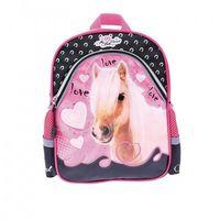 My little friend plecak szkolno-wycieczkowy 12'' kucyk 241079, marki St. majewski