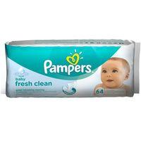 Pampers Chusteczki nawilżane  baby fresh clean (64 sztuki) (4015400439110)