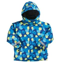 PLAYSHOES Boys Kurtka zimowa allover print blue/green