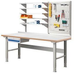 Array Stół warszatowy z wyposażeniem, 2000x800 mm, laminat