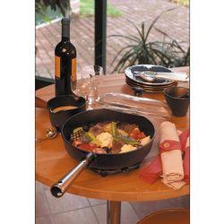 Patelnia głęboka ze szklaną pokrywą Chef's Skeppshult 25cm (0120) (7317930120009)