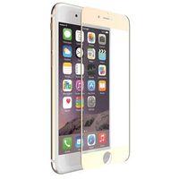 X-doria  aster tempered glass - szkło ochronne 9h 0,33mm iphone 7 plus (złota ramka) (6950941453097)