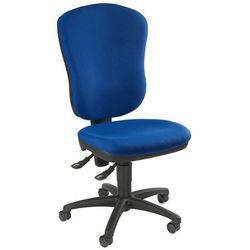Standardowe krzesło obrotowe, bez poręczy, z podpórką lędźwi, wys. oparcia: 600 marki Topstar