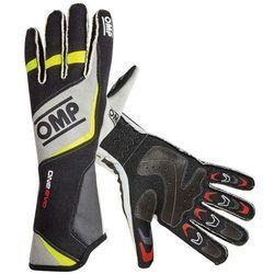 Rękawice OMP ONE EVO - Czarno / żółty