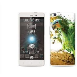 Foto Case - Allview X1 Soul - etui na telefon Foto Case - zielona papuga - produkt z kategorii- Futerały i po
