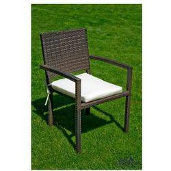 """Pozostali Krzesło ogrodowe """"adorazione""""- ciemny brąz"""