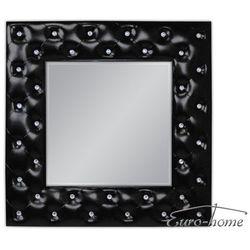 Lustro wiszące Deco 98x98 - czarny