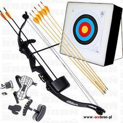 Profesjonalny zestaw strzelecki - Łuk Elkhorn + mata strzelecka + 7 strzał z kategorii Łuki i akcesoria