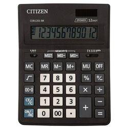 Citizen Kalkulator biurowy cdb1201-bk business line, 12-cyfrowy, 205x155mm, czarny