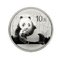 1 uncja srebrna Panda - Srebrna Moneta Bulionowa