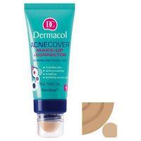 Dermacol Acnecover Make-up With Corrector - Podkład z korektorem do cery trądzikowej Odcień: 4, 30 ml (8595