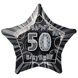 Balon foliowy czarny - 50tka - 50 cm - 1 szt. z kategorii gadżety