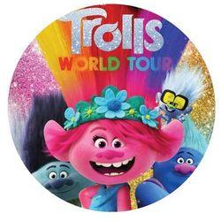 Smakop Dekoracyjny opłatek tortowy trolle 2 world tour - 20 cm