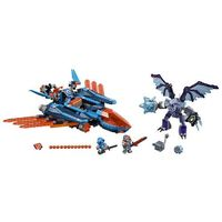 Lego NEXO KNIGHTS Blasterowy myśliwiec clay'a 70351