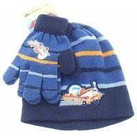 Komplet zimowy- czapka i rękawiczki Planes Samoloty