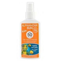 Spray przeciwsłoneczny spf 50, 125g  kids wyprodukowany przez Alphanova