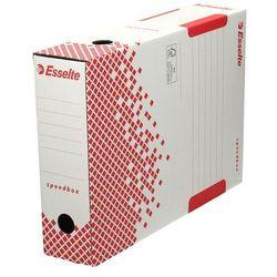 Pudło archiwizacyjne 350x250x80 biało/czer speedbox 623985 marki Esselte