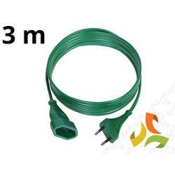 Przedłużacz choinkowy 3m zielony PS-110CH - ABEX