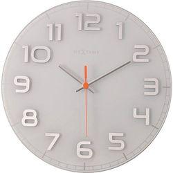 Okrągły zegar ścienny Classy Nextime 30 cm, biały
