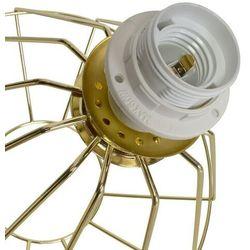 Milagro Biurkowa lampa stojąca lupo mlp6268 druciana lampka stołowa klatka metalowa złota (5902693762683)
