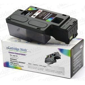 Cartridge web Toner cw-x6020bn black do drukarek xerox (zamiennik xerox 106r02763) [2k]