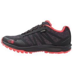 The North Face LITEWAVE FASTPACK GTX Półbuty trekkingowe phantom grey heather/cayenne red (0190286619116)