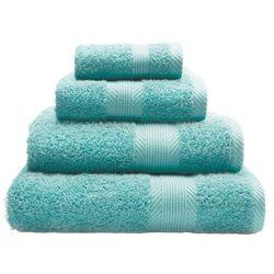 ręcznik home aqua 50x83cm, 50x83cm marki Dekoria