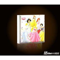 Lampka LED - Princess - produkt z kategorii- Oświetlenie dla dzieci