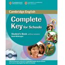 Complete Key for Schools Students Pack, Cambridge University Press