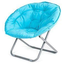 Happy Green fotel składany ANZIO jasnoniebieski - produkt z kategorii- Krzesła ogrodowe