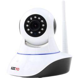 Keeyo Monitoring przez internet lv-ip10ptz kamera ip hd wi-fi niania elektroniczna 1mpx ir 8m