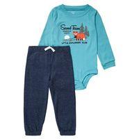 Carter's SET Body light blue z kategorii Body niemowlęce