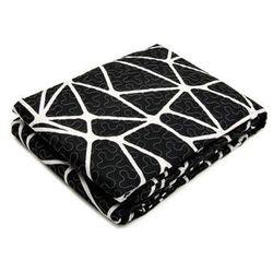 Narzuta + poszewki 40x40 czarny + biały 006 220x240 marki Oulaiya