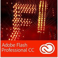 Adobe Flash Professional CC PL dla użytkowników wcześniejszych wersji - Subskrypcja z kategorii Programy graficzne i CAD